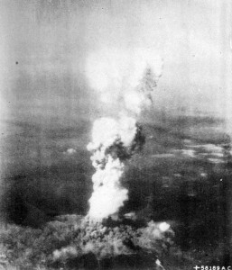 Hiroshima Bomb Mushroom Cloud