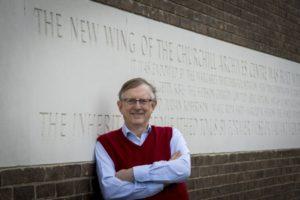 Graham Farmelo, Churchill College