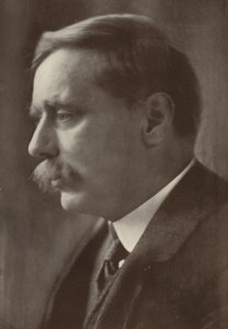 HG Wells, April 1914