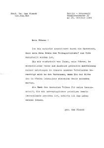 Planck letter